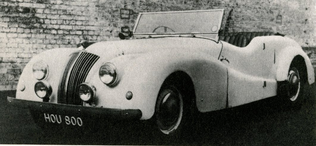 1950 ac buckland sports tourer pictures