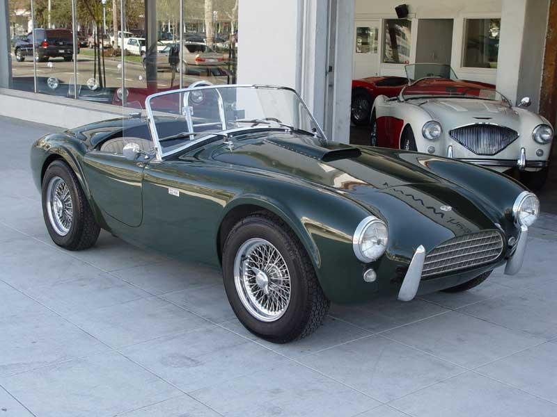 1963 289 Cobra Around Nurburgring