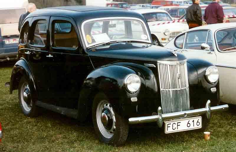 1950 English Ford Prefect