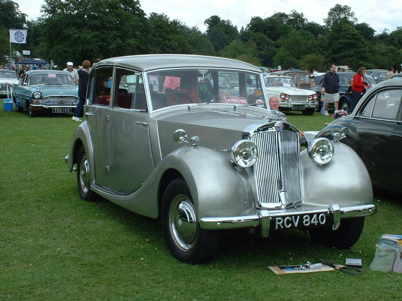1950 Triumph Mayflower Saloon